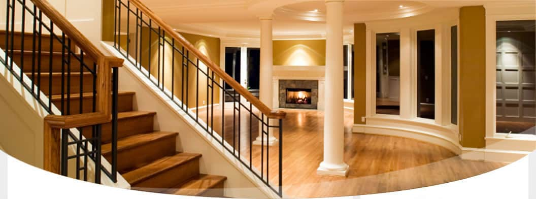 interior hallway hall-interior project for cutting edge builders